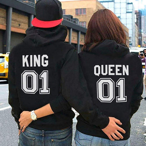 Combo Pack King and Queen Couple Hoodie