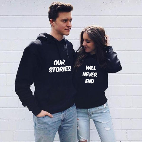 Our Stories Couple Hoodie