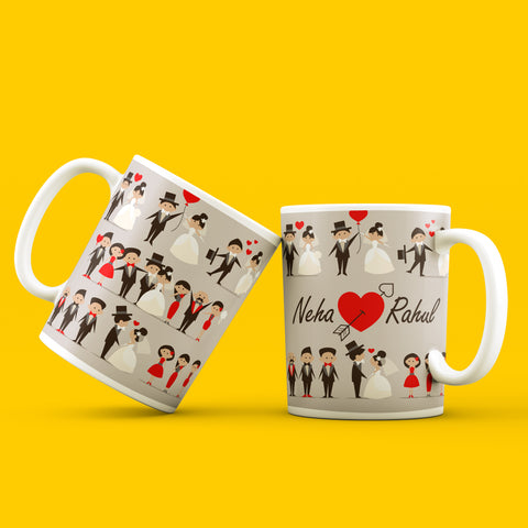 I wanna grow old with You Mug Set of 2