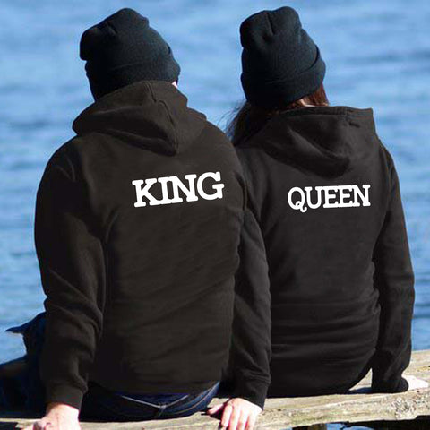 Couples Two Hoodies Combo Pack King & Queen