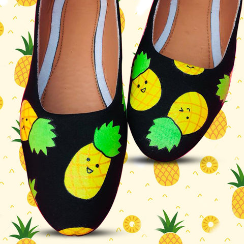 Pineapple Ballerinas