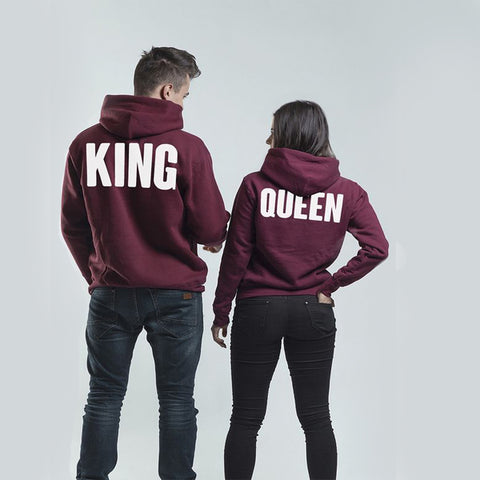Couple Hoodie King And Queen