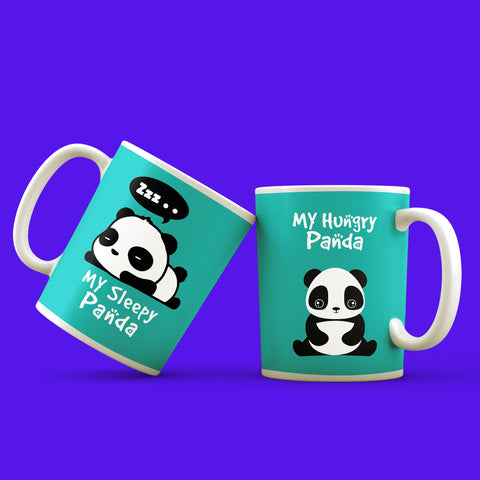 Panda Lover Mug Set of 2