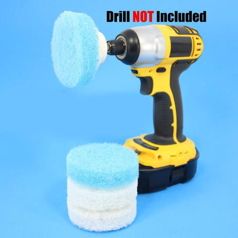 3 Inch Round Scouring Pads Electric Scrubber Kit Part