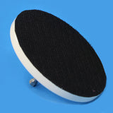 4 INCH VELCRO BACKER PAD DRIVER FOR DRILL