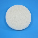 6 inch Diameter White Fine Polishing Pad