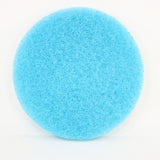 8 Inch Diameter Blue Medium Replacement Mild Scrub Pad