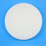 8 Inch Diameter White Fine Replacement Polishing Pad