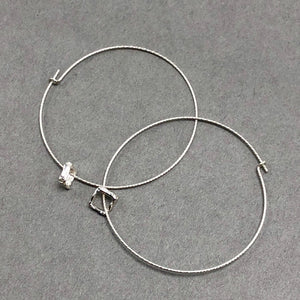 Tiny Square Hoops