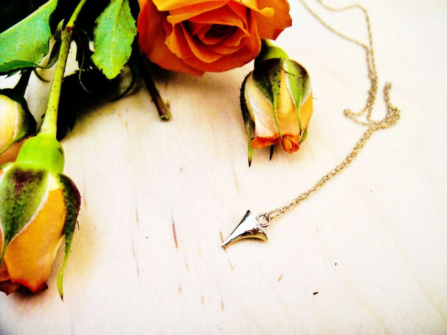 Rose Thorn Necklace