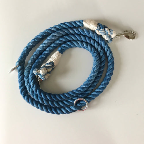 Hands Free Cotton Rope Dog Leash - Downtown Dog