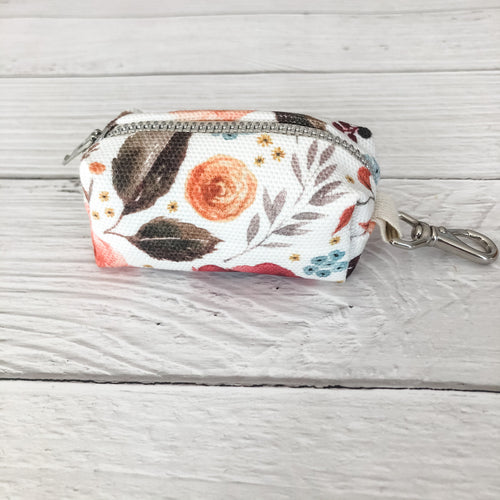 Floral Harvest Poop Bag Holder