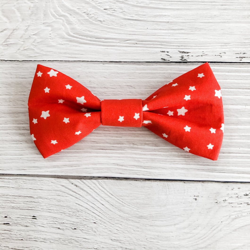 Red Star Bow Tie - Downtown Dog