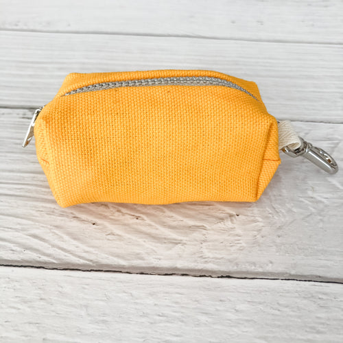 Yellow Poop Bag Holder