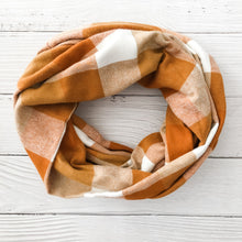 Load image into Gallery viewer, Pumpkin Spice Infinity Scarf - Downtown Dog