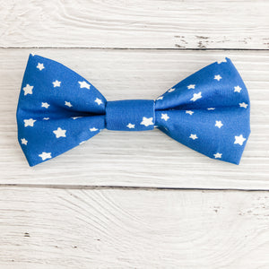 Blue Star Bow Tie