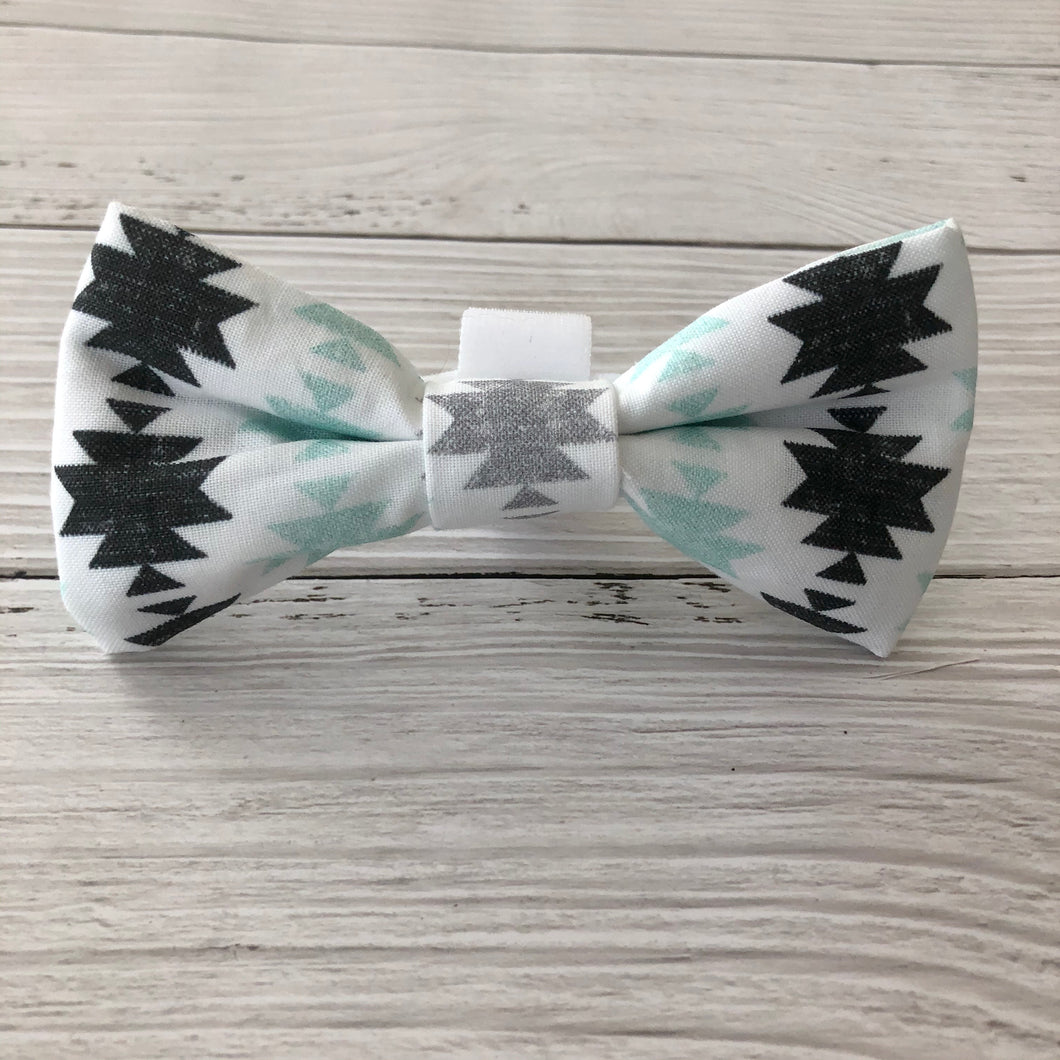 Modern Aztec Bowtie - Downtown Dog