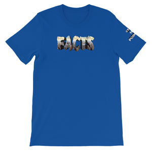 FACTS. Short-Sleeve Unisex Tee (NYC Skyline)