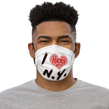 Load image into Gallery viewer, I Fucks With NY Premium face mask