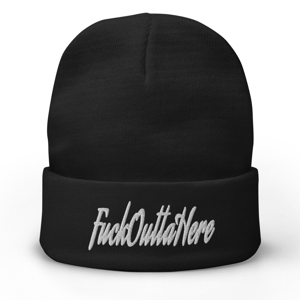 FOH Embroidered Beanie