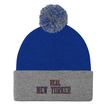 Load image into Gallery viewer, Real New Yorker Pom-Pom Beanie