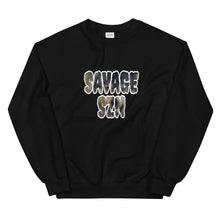 "Load image into Gallery viewer, Unisex "" Savage SZN"" Sweatshirt"