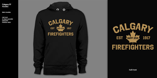 Calgary Firefighters Hoodie (Youth)
