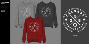 Calgary Firefighters Crewneck Sweaters