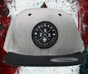 Calgary Firefighters 255 Classic Snapback