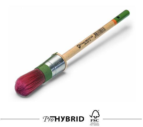 New! Staalmeester Hybrid Pro Round Paint Brush - Series 2020