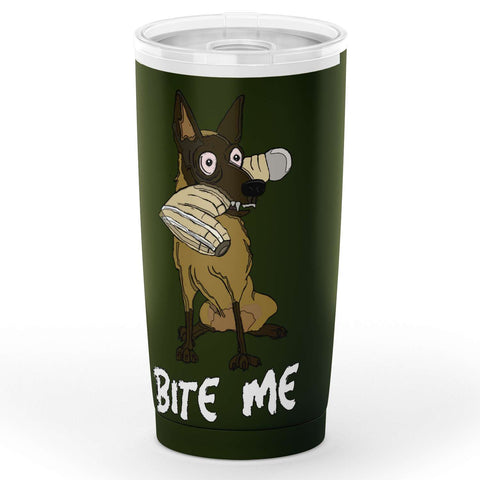 Bite Me. IGP Working Malinois Tumbler