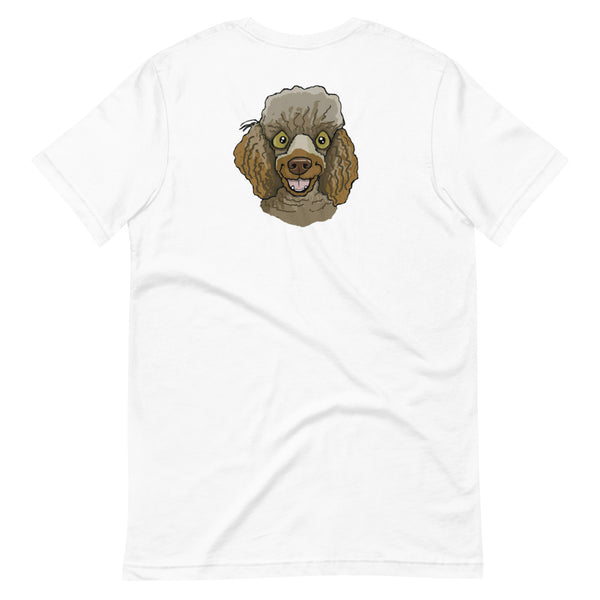 Chocolate Miniature Poodle Unisex T-Shirt
