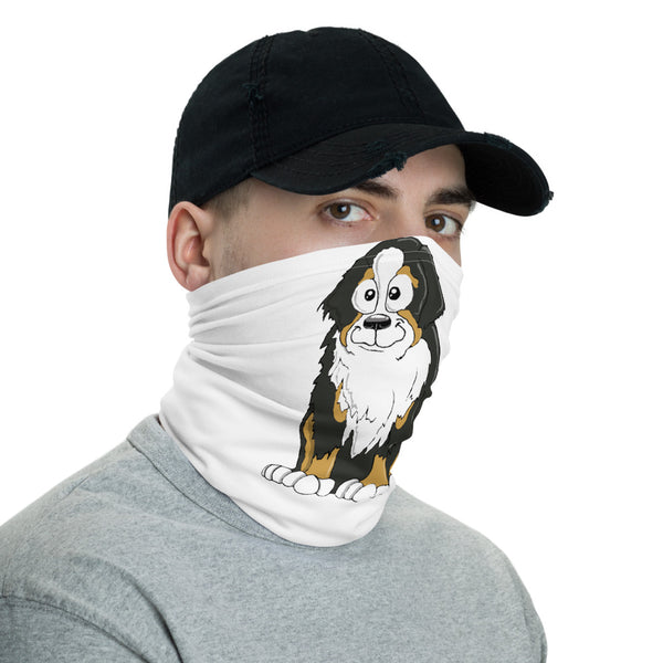Bernese Mountain Dog Face Covering