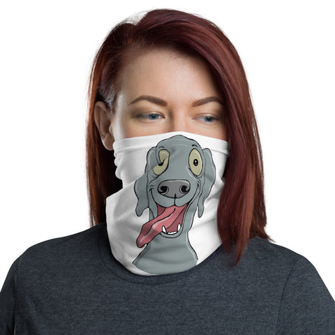 Weimaraner Face Covering