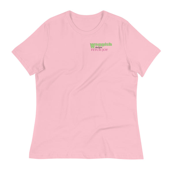 Goffin's Cockatoo Parrot Women's Relaxed T-Shirt