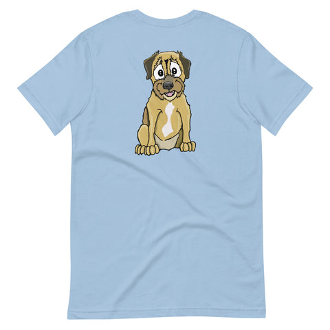 Border Terrier Short-Sleeve Unisex T-Shirt