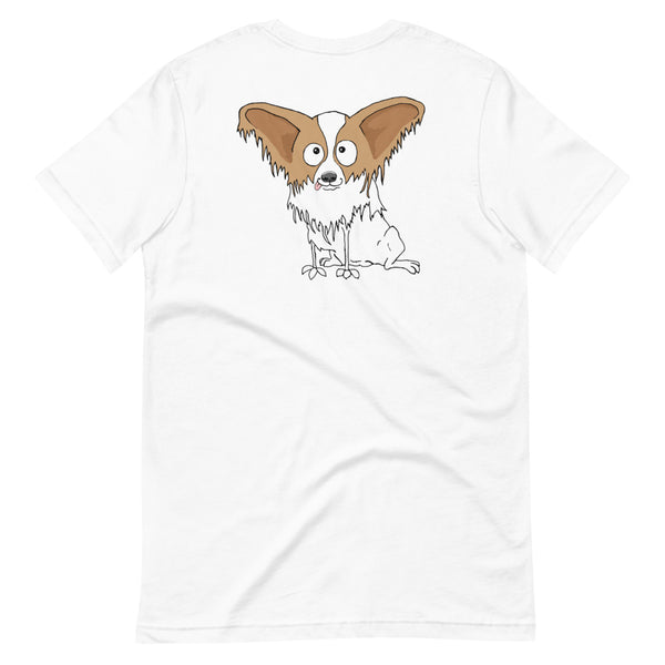 Papillon Short-Sleeve Unisex T-Shirt