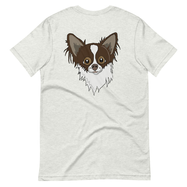 Long Haired Chihuahua Short-Sleeve Unisex T-Shirt