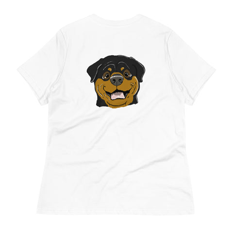 Rottweiler Women's Relaxed T-Shirt