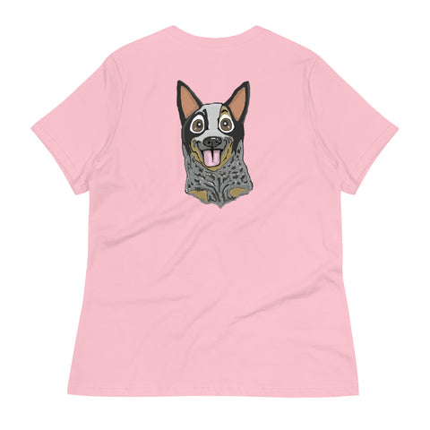 Australian Cattle Dog (blue heeler) Women's Relaxed T-Shirt