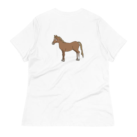 Brown Horse Women's Relaxed T-Shirt