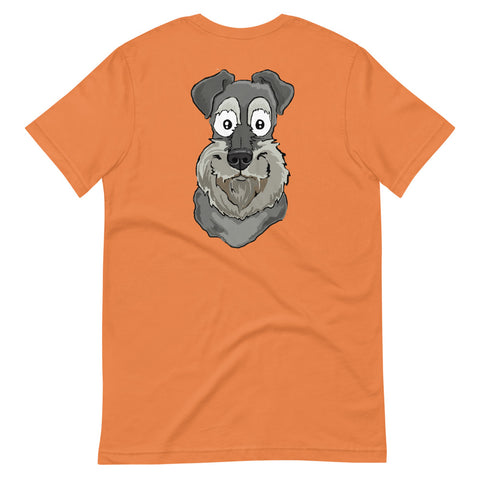 Miniature Schnauzer Short-Sleeve Unisex T-Shirt