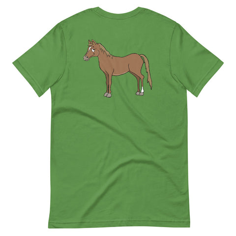 Brown Horse Short-Sleeve Unisex T-Shirt