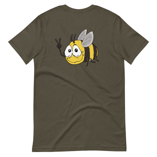 Peace Bee Short-Sleeve Unisex T-Shirt
