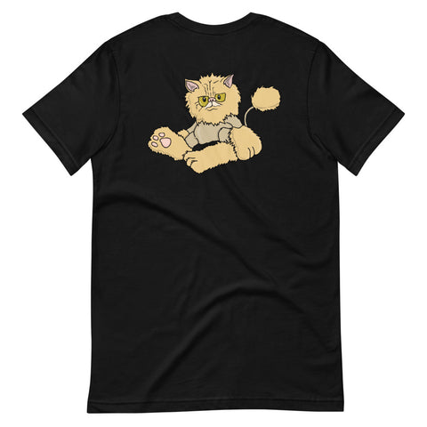 Persian Cat Short-Sleeve Unisex T-Shirt