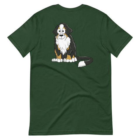 Bernese Mountain Dog Short-Sleeve Unisex T-Shirt