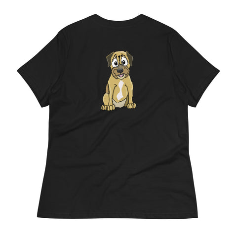 Border Terrier Women's Relaxed T-Shirt