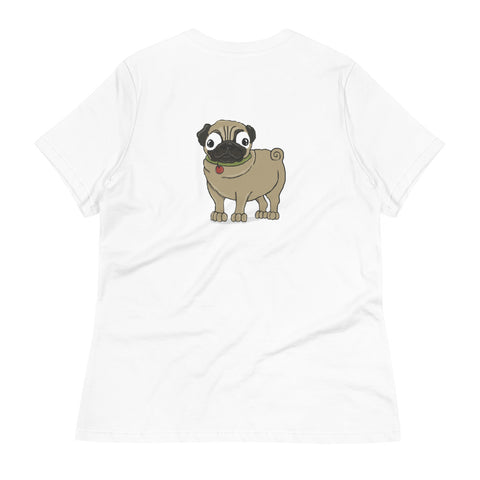 Pug (fawn) Women's Relaxed T-Shirt