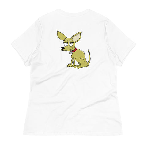 Short Haired Chihuahua Women's Relaxed T-Shirt