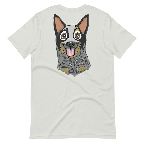 Australian Cattle Dog (blue heeler) Short-Sleeve Unisex T-Shirt